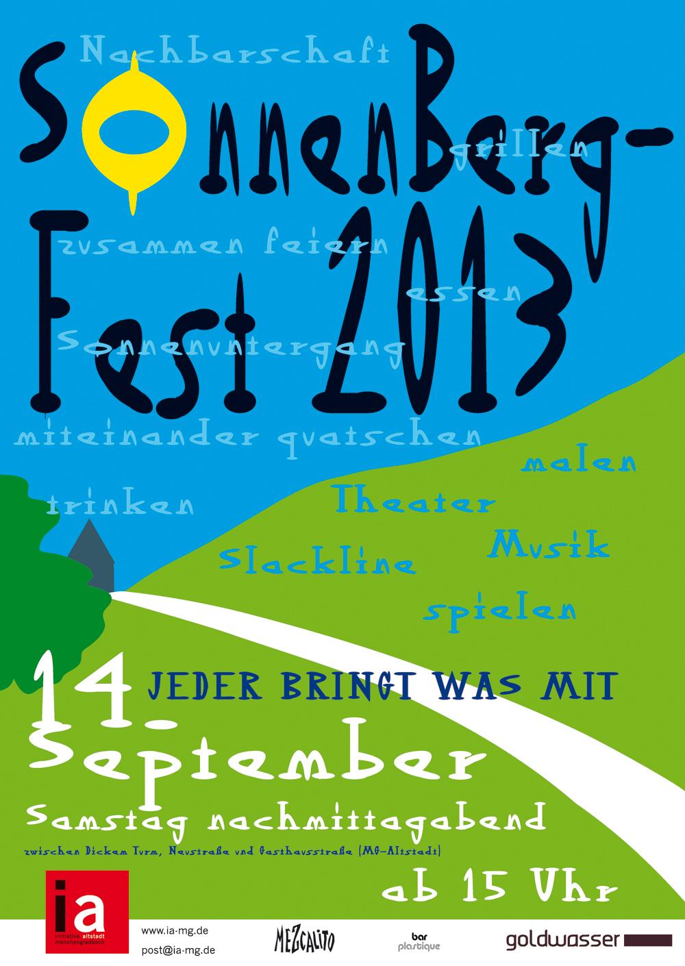 Sonnenbergfest2013 Plakat